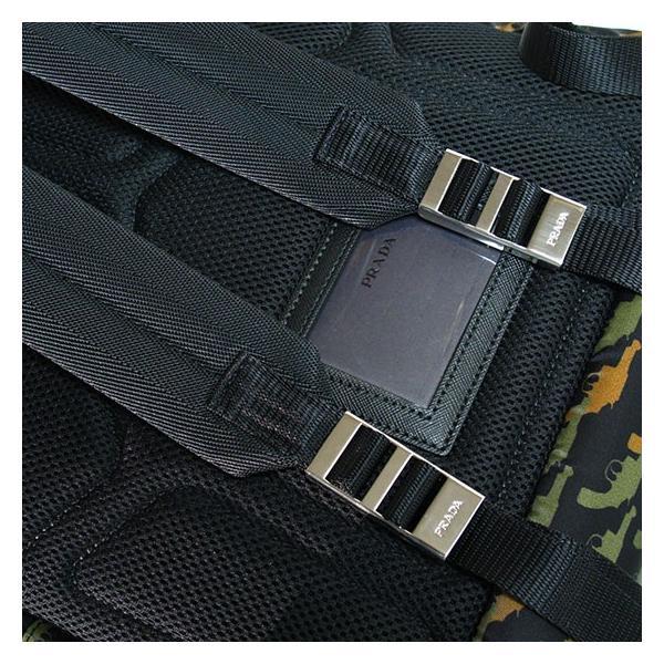 PRADA プラダ メンズ リュック VZ0066 TESSUTO STAMPAT MILITARE DIS|tokyoimport|04
