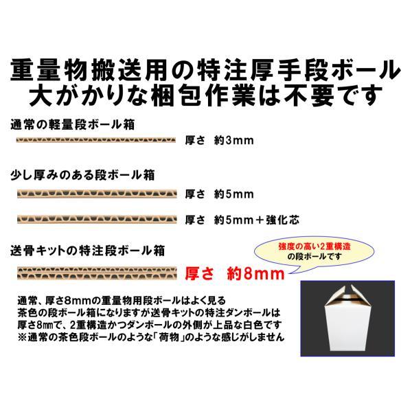 送骨専用の梱包キット/送骨用/骨壺骨箱用箱|tokyosankotsusya|02