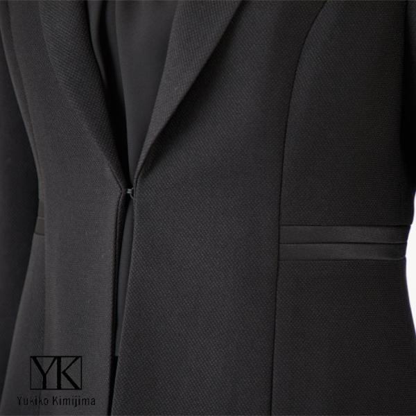 東京ソワール ユキコキミジマ ブラックフォーマル 喪服 礼服 レディース 卒業式 母 オールシーズン 黒 ワンピース スーツ 4203721 tokyosoir 08