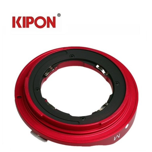 KIPON L/M-GFX  ライカMマウントレンズ-FUJIFILM GFX 50S マウントアダプター(レッド)|tokyotradingshop|05
