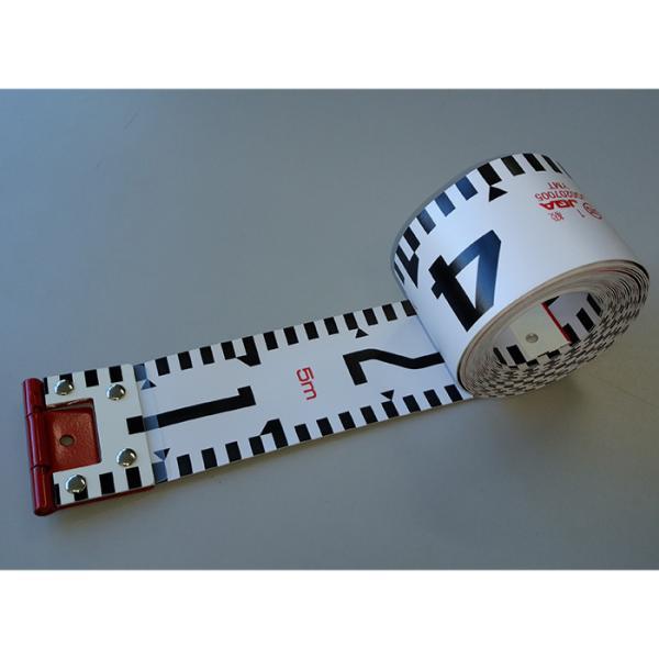 ヤマヨ測定機 リボンロッド両サイド60E-2 R6B5 写真撮影用巻尺