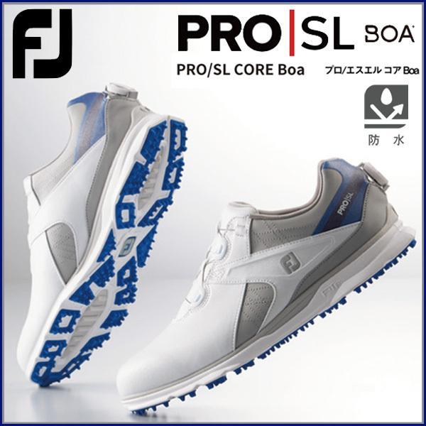FootJoy フットジョイ ゴルフシューズ PRO/SL CORE BOA FJ プロエスエル コア ボア 2021 5383
