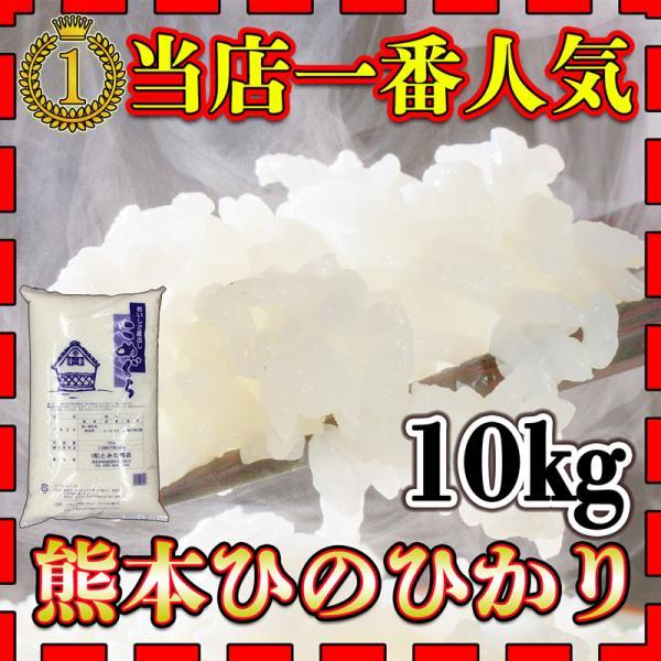 米 10kg 九州 熊本県産 ひのひかり 令和2年産 あすつく ヒノヒカリ 精白米 10kg1個 富田商店一番人気 くまもとのお米 kuma-kome とみた商店