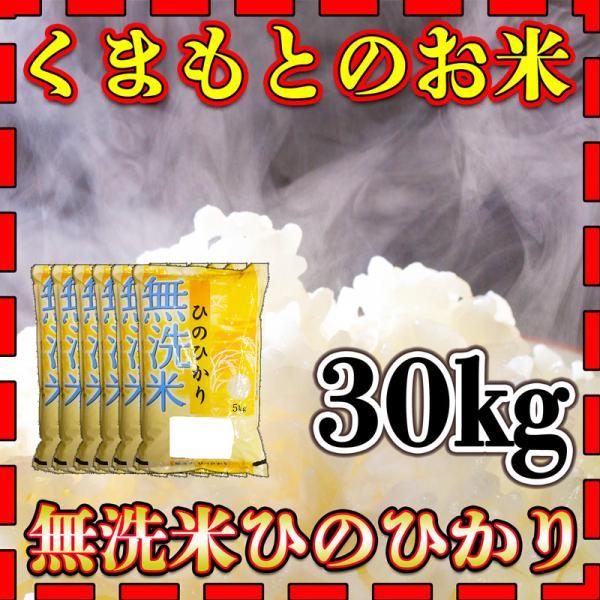 米 30kg 九州 熊本県産 ひのひかり 無洗米 令和2年産 ヒノヒカリ 5kg6個 精白米 くまもとのお米 kuma-kome