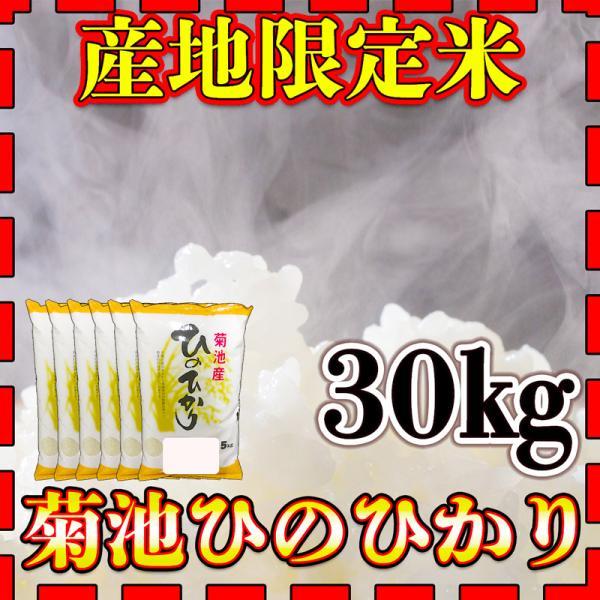 米 30kg 九州 熊本 菊池産 ひのひかり 令和2年産 ヒノヒカリ あすつく 精白米 5kg6個 産地限定米 くまもとのお米 kuma-kome