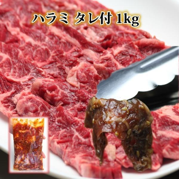 期間限定特価 お中元 牛肉 ハラミ サガリ たれ付 1kg 焼肉 訳あり焼肉セット 業務用 ステーキ 焼き肉 バーベキュー BBQ やきにく ハラミ はらみ カルビ