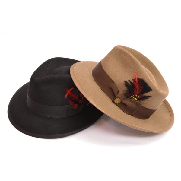 stetson ステットソン ウールフェルト ハット whippet b pinch front