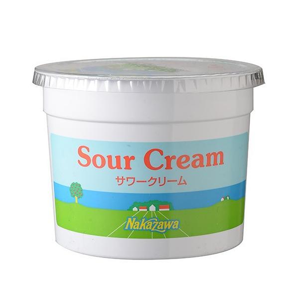 【冷蔵便】中沢 サワークリーム / 1000ml TOMIZ/cuoca(富澤商店)