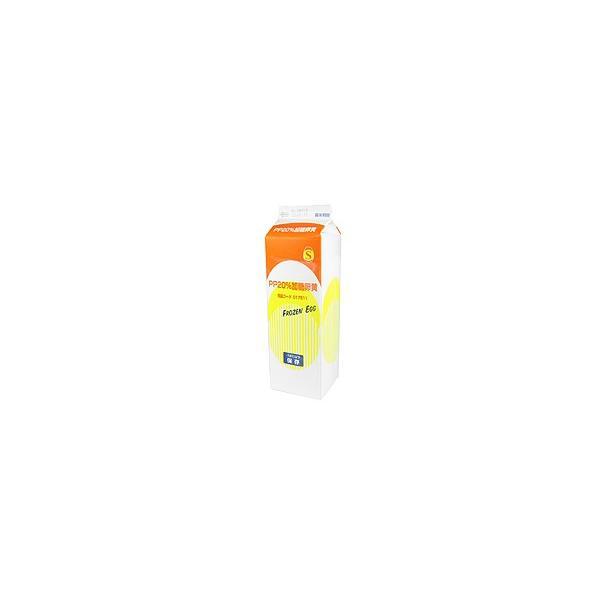 【冷凍便】三州食品 PP20%加糖卵黄 / 1kg TOMIZ/cuoca(富澤商店)