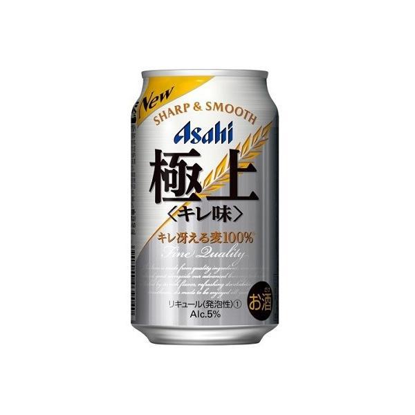 【リニューアル発売 順次切替】アサヒ 極上<キレ味> 350mlx6本|tomizuya