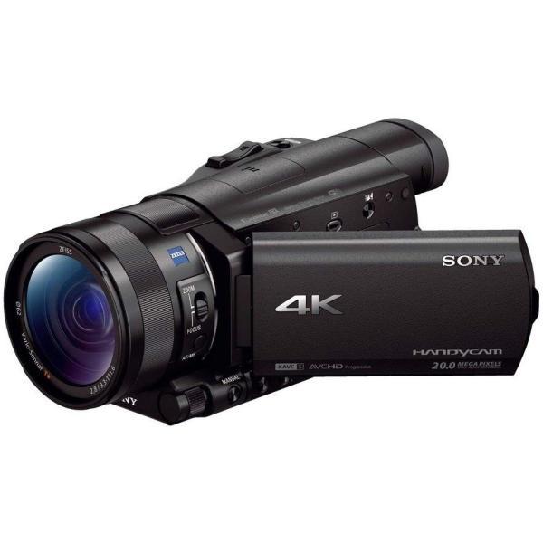 SONY ソニー FDR-AX100 4K Handycam FDR-AX100 BC ブラック ビデオカメラ カメラ 4K 人気 ビデオ おすすめ tomocop-store