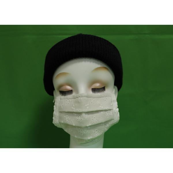 マスク 日本製 布 ガーゼ 肌に優しい 給食 花粉症対策 手洗いOK 手作り自社製造品  肌に触れる所はWガーゼ一枚 綿レースおっしゃれマスク|tomoe3