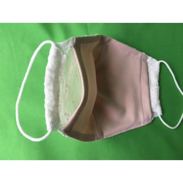 マスク日本製 夏用 涼しい 洗える 夏対策 女性  布マスク 大人 対策 ワイヤー 吸水UVカット接触冷感  刺繍透かしレース 生地 立体おしゃれマスク |tomoe3|06