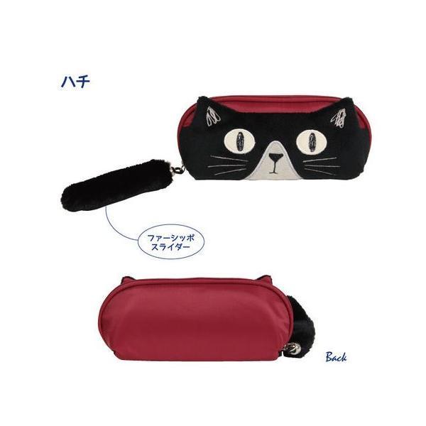 猫雑貨 トリオキャットメガネケース 3色 ノアファミリー|tomonyanshop2|04
