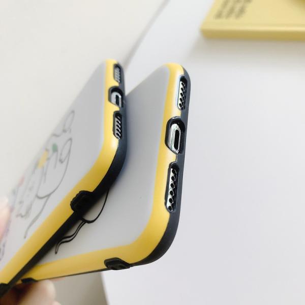猫雑貨 バイカラー キャット イラスト 背面 iPhone11 Pro Max XR X/XS 8/7 8p/7p 6/6s 6p/6spスマホケース|tomonyanshop2|05