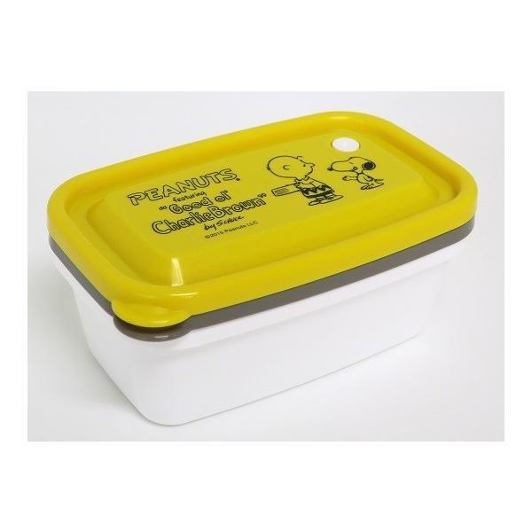 スヌーピー レンジパック 650ml 2個セット 保存容器 密閉 タッパー フードコンテナ 容器 ケース レンジ対応 冷蔵庫 日本製 OSK RP-65B|tomorrow-life|03