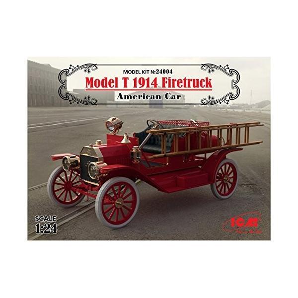 ICM 1/24 T型フォード 1914 消防車 プラモデル 24004|tomoshop0218