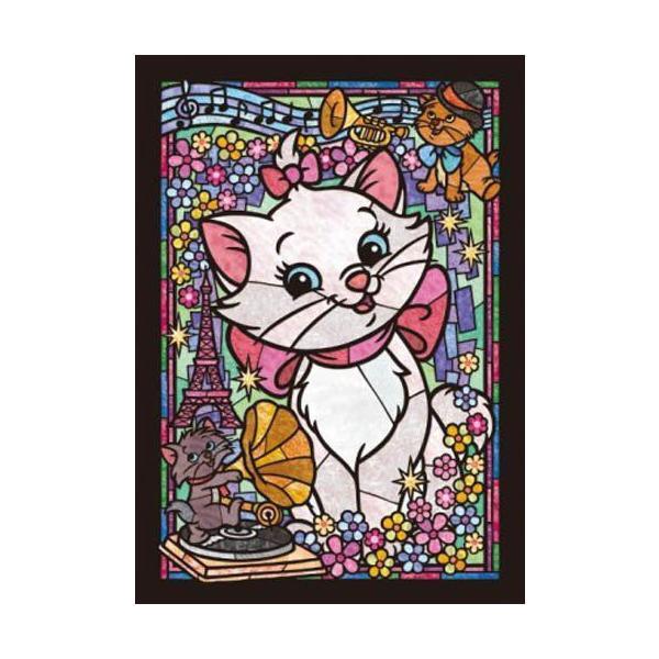 ジグソーパズル 266ピース ディズニー マリーステンドグラス ステンドアート ぎゅっとシリーズ(18.2x25.7cm) DSG-266-752(テンヨー)梱60cm