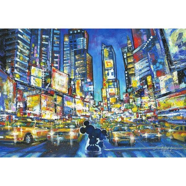 ジグソーパズル 1000ピース ジグソーパズル ディズニー You, Me and the City 【ステンドアート】 (51.2x73.7cm) DS-1000-775(テンヨー)梱80cm