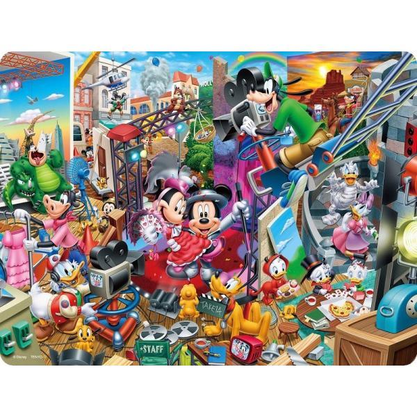 ジグソーパズル 99ピース3Dマジック ディズニー ミッキーのムービースタジオ  (DL-99-698) DL-99-698(テンヨー)梱60cm