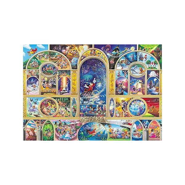 ジグソーパズル 500ピース ステンドアート ディズニー オールキャラクタードリーム ぎゅっとシリーズ(25x36cm) DSG-500-410(テンヨー)梱60cm