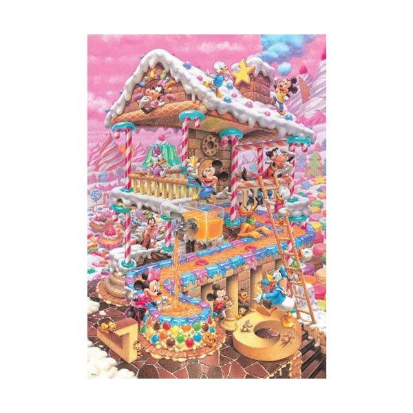 ジグソーパズル 1000ピース ディズニー おかしなおかしの家 (51x73.5cm) D-1000-421(テンヨー)梱80cm