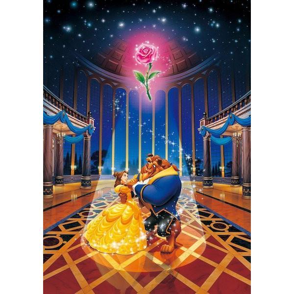 ジグソーパズル 1000ピース ディズニー 美女と野獣 マジックオブラヴ スモールピース(29.7x42cm)  DW-1000-471(テンヨー)梱60cm