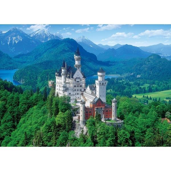 ジグソーパズル 2000ピース 白亜の城 ノイシュバンシュタイン—ドイツ 世界最小スーパースモールピース(38x53cm)  54-014(エポック社)梱60cm