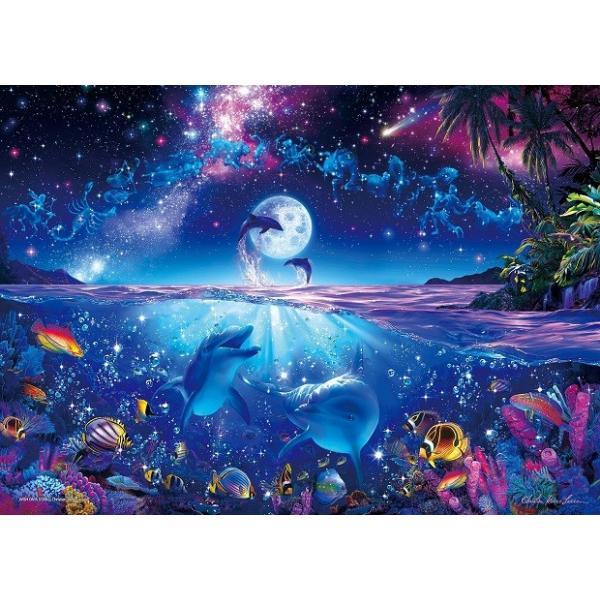 ジグソーパズル 2000ピース ラッセン 星に願いを スーパースモールピース 光るパズル (38x53cm)  54-702(エポック社)梱60cm