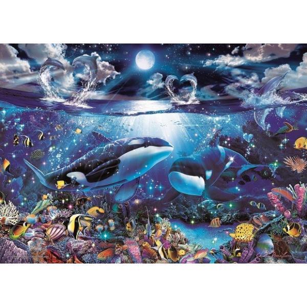 ジグソーパズル 2000ピース ラッセン グランドボヤージュ スーパースモールピース 光るパズル (38x53cm) 54-709(エポック社)梱60cm