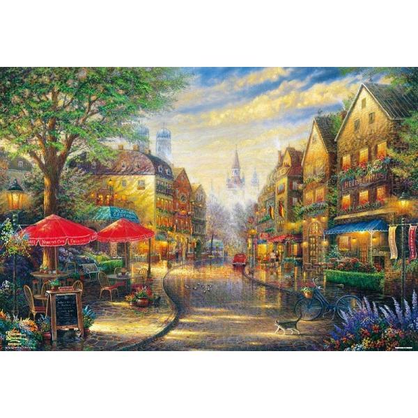 ・ジグソーパズル 2000ピースジグソーパズル 木漏れ日の花咲くカフェ スモールピース(49×72cm) S92-501(ビバリー)梱60cm