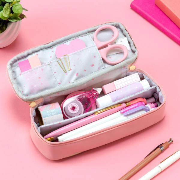 ペンケース 大容量  おしゃれ かわいい シンプル 便利 韓国 女子 人気 ペン入れ 筆箱  スタディプランナー ブランド &studium (gap)|tonary|09