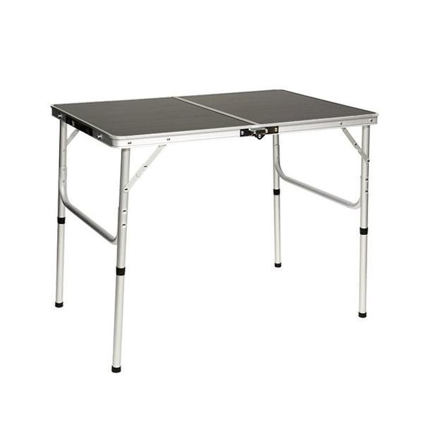 クイックキャンプ アウトドア 折りたたみテーブル 90×60cm モダンブラウン|tono-shop|02