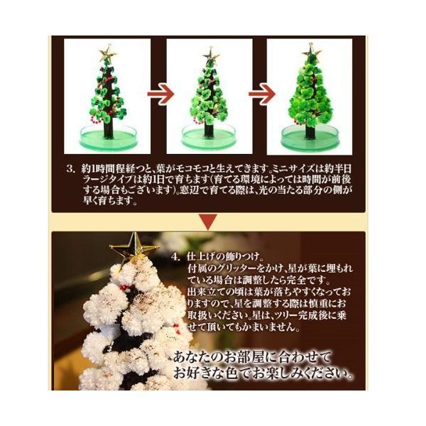 OTOGINO(オトギノ) マジッククリスマスツリー ホワイト 12時間で育つ不思議なツリー TR-11A-W tono-shop 05