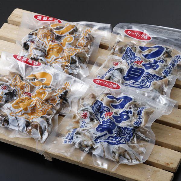 味付つぶ ガーリック&燻製風味−十勝 海産物 お取り寄せ 敬老の日 プレゼント 残暑見舞い ギフト 贈り物 内祝い/帯広地方卸売市場