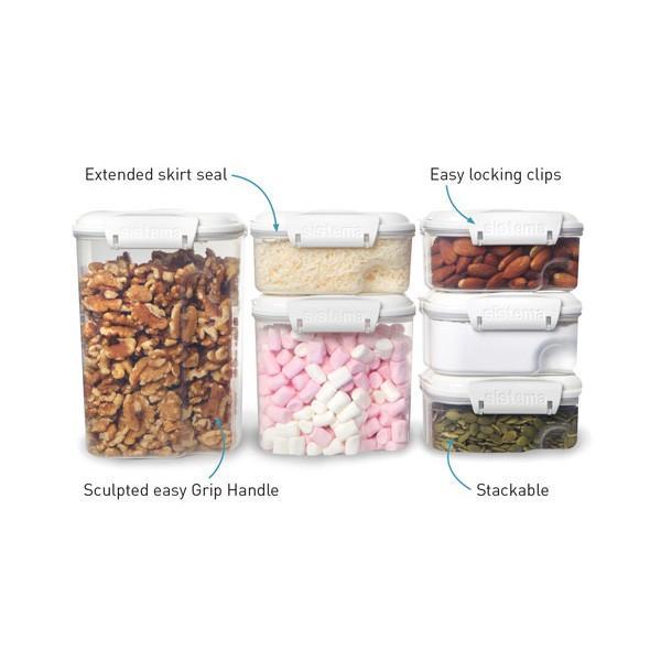 システマ 保存容器 ベイクイット レクト 685ml スタッキング SiStema 保存容器 プラスチック|toolandmeal|02
