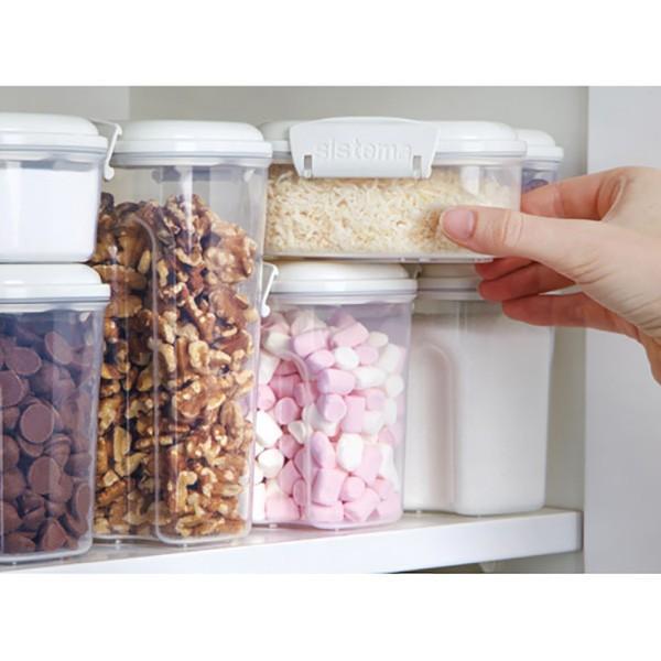 システマ 保存容器 ベイクイット レクト 685ml スタッキング SiStema 保存容器 プラスチック|toolandmeal|03