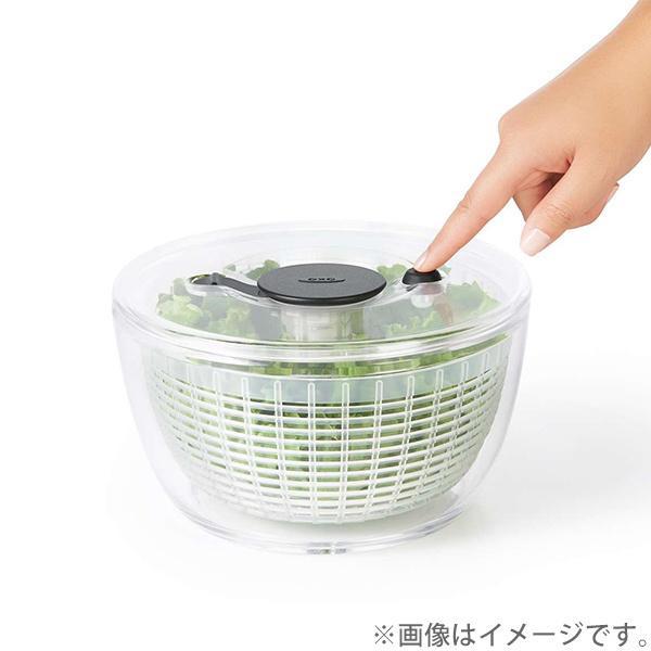 野菜水切り器 クリアサラダスピナー 小 オクソー OXO 11230500|toolandmeal|04