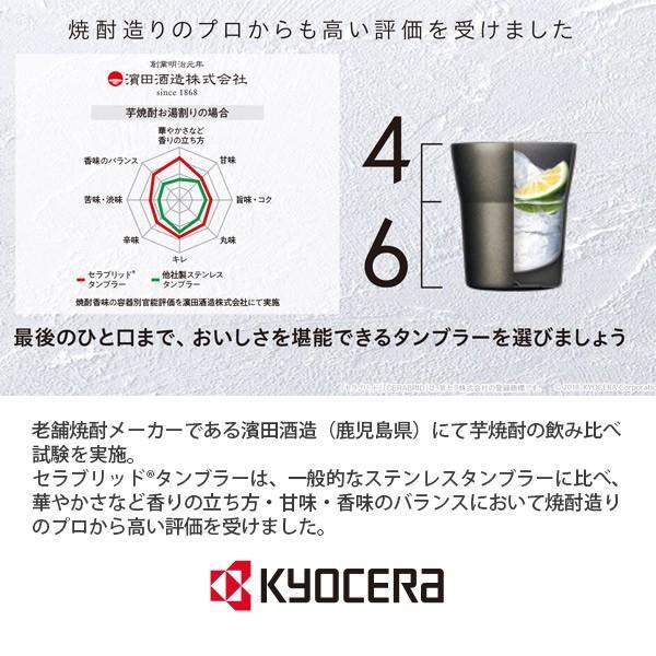 セラブリッドタンブラー 300ml 京セラ KYOCERA toolandmeal 03