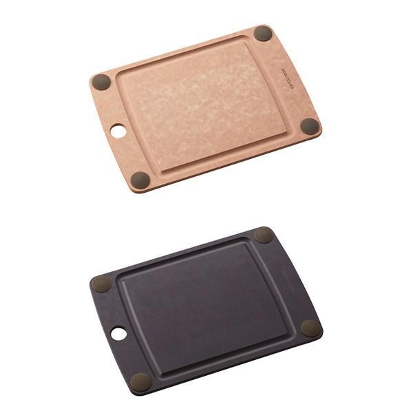 まな板 オールインワンボード グリップ付 S エピキュリアン EPICUREAN カッティングボード 木製 薄い 食洗機対応|toolandmeal