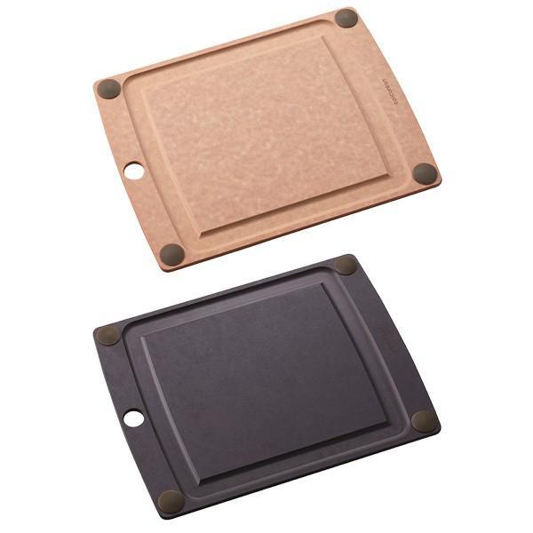 まな板 オールインワンボード グリップ付 M エピキュリアン EPICUREAN カッティングボード 木製 薄い 食洗機対応|toolandmeal