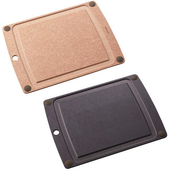 まな板 オールインワンボード グリップ付 L エピキュリアン EPICUREAN カッティングボード 木製 薄い 食洗機対応|toolandmeal