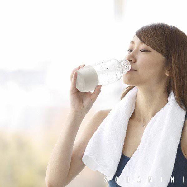 炭酸水メーカー ソーダミニ2 スターターセット 炭酸 本体+ボトル350ml1本+ガスボンベ1本セット SODA MINI II|toolandmeal|09