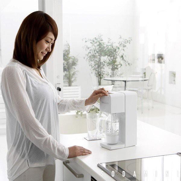 炭酸水メーカー ソーダミニ2 スターターセット 炭酸 本体+ボトル350ml1本+ガスボンベ1本セット SODA MINI II|toolandmeal|10