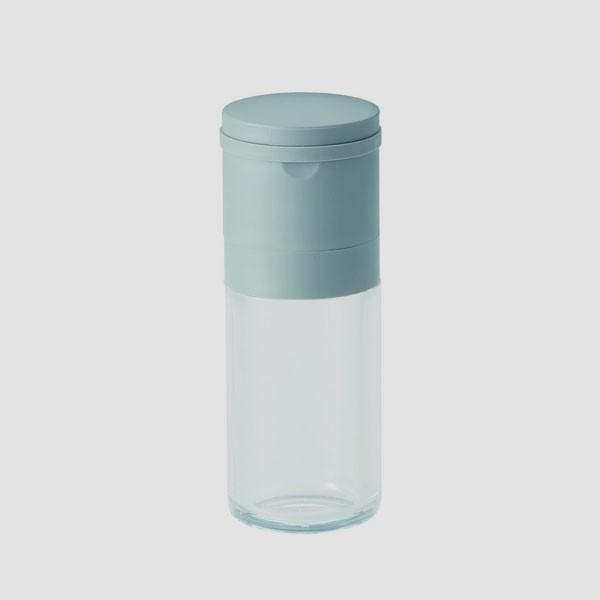 セラミック スパイスミル ペッパー グレー 川崎合成樹脂|toolandmeal