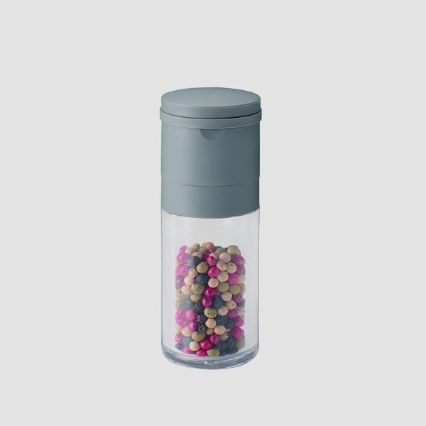 セラミック スパイスミル ペッパー グレー 川崎合成樹脂|toolandmeal|02