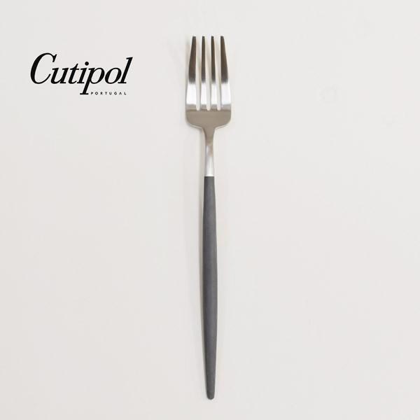 テーブルフォーク クチポール ゴア グレー シルバー Cutipol GOA GO.04GR|toolandmeal