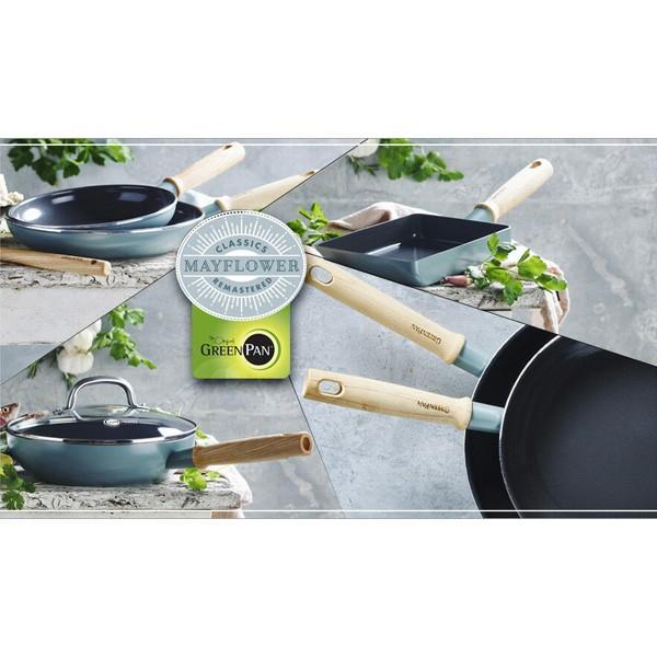 IH対応 セラミック フライパン 26cm 蓋付き グリーンパン メイフラワー GREENPAN MAYFLOWER CC001900-001|toolandmeal|04