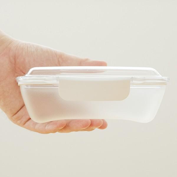弁当箱 ランチボックス ドーム型 プレミアムドームランチボックス 日本製 透明 500ml 新素材TPX(R) おしゃれ ピクニック 電子レンジ可 KLBTL5 単品|toolandmeal|05
