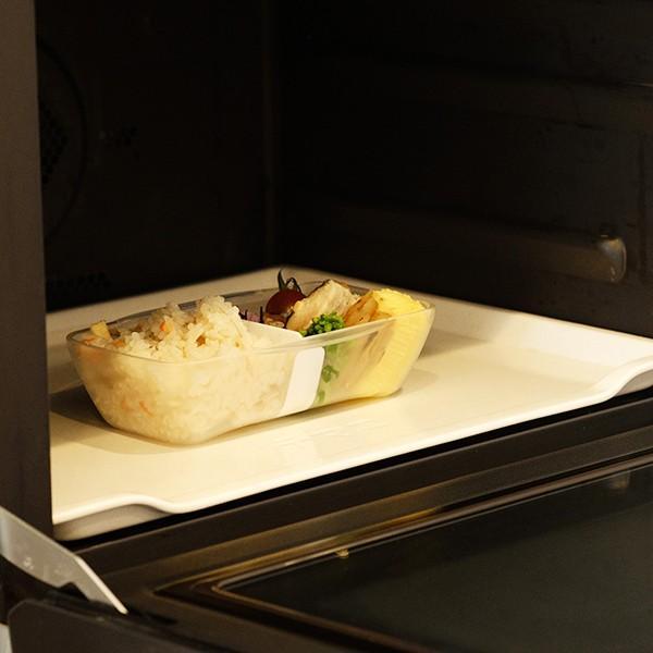 弁当箱 ランチボックス ドーム型 プレミアムドームランチボックス 日本製 透明 500ml 新素材TPX(R) おしゃれ ピクニック 電子レンジ可 KLBTL5 単品|toolandmeal|06